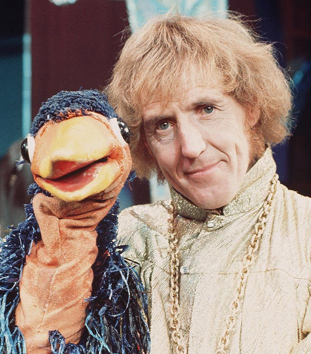 Rod Hull (geddit) and Emu