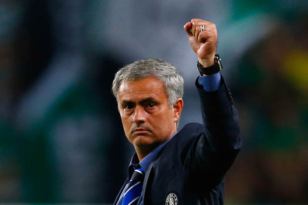 Image result for mourinho fist